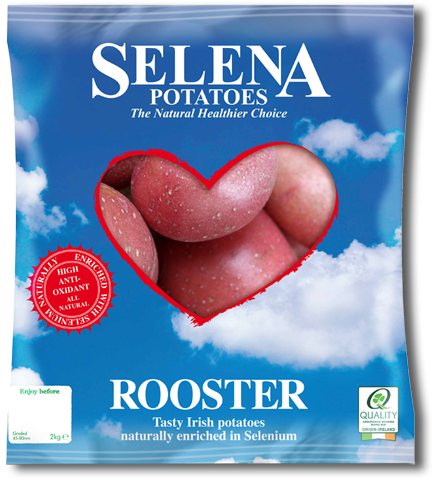 large selena potato bag